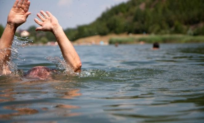 утонул человек