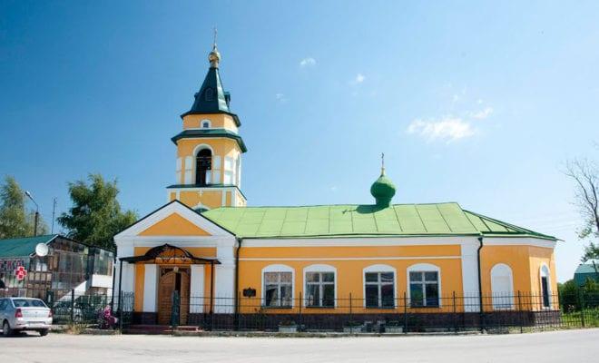 поселок Ферзиково церковь