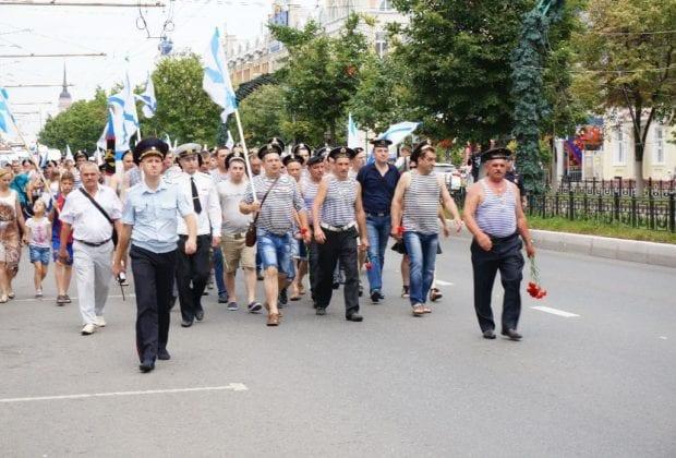 День ВМФ в Калуге