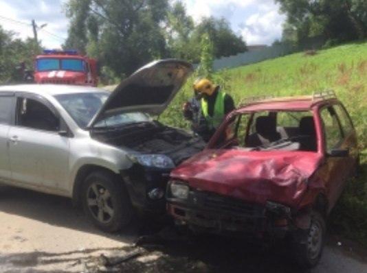 авария на улице Михалева