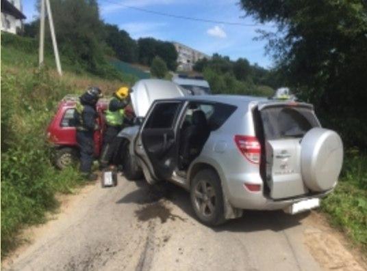 авария в Калуге на Михалева