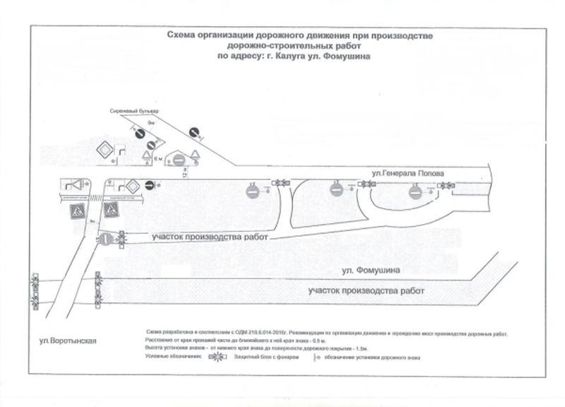 схема на Правом берегу