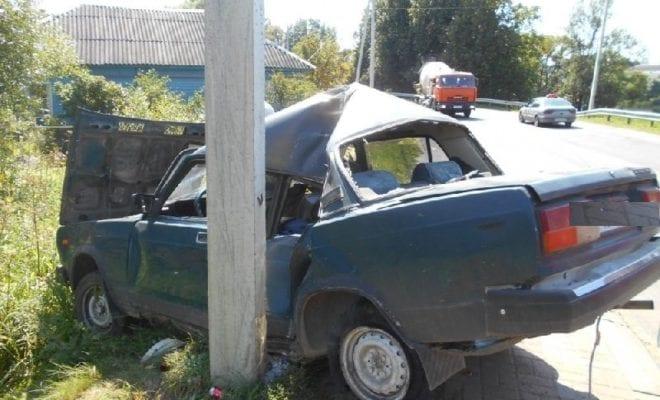 ВАЗ в аварии