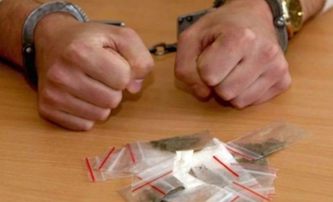 Арест за наркотики