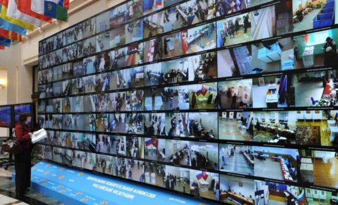 Онлайн камеры на выборах 2018