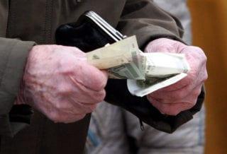 Пенсионер и деньги