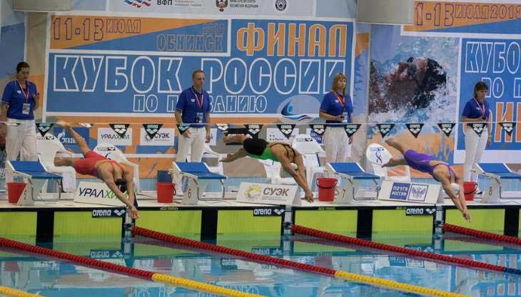 Соревнование плавание