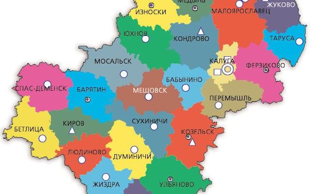 Карта КО