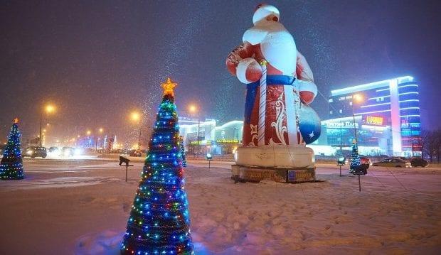 Новый год в Обнинске
