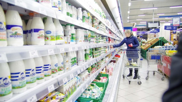 Продажа молочной продукции