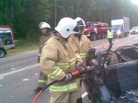 Спасатели авария