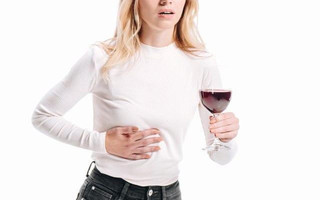 Алкоголь и девушка