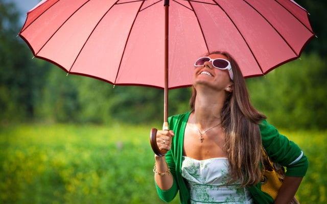 Девушка погода