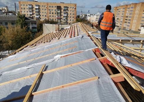 Крыша ремонт