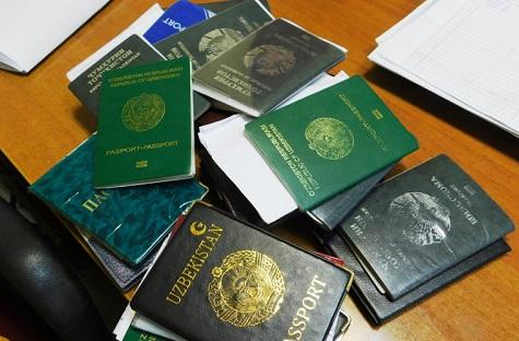 паспорт мигрантов