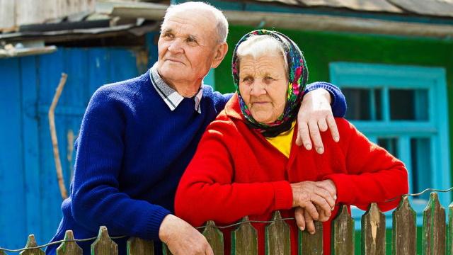 Сельские пенсионеры