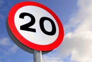 Знак 20