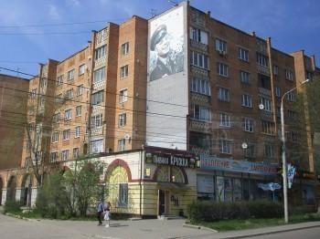 Фасад дома на Гагарина