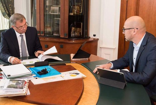 встреча губернатор