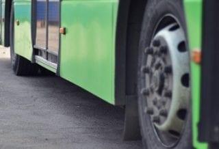 Автобус колесо