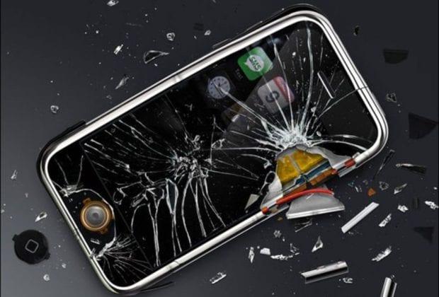 Телефон разбит