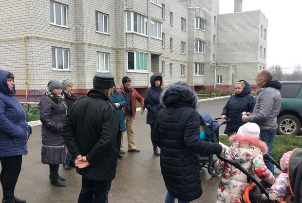 жильцы Новосельской