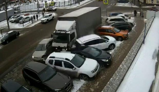 Авария в центре Калуги