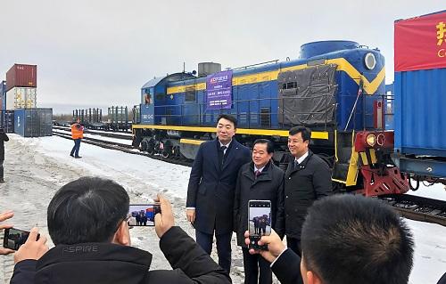 Поезд из Китая