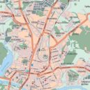 Карта Калуги