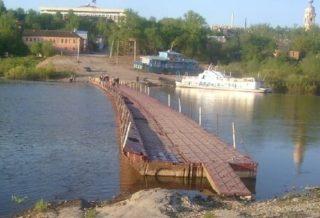 Мост понтонный