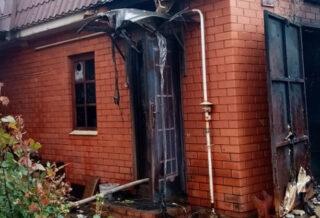 пожар Жуков