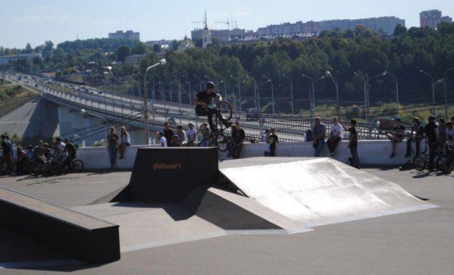 Скейт площадка