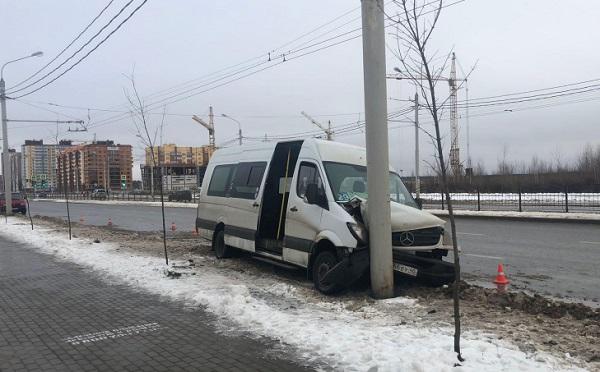 Авария с маршруткой