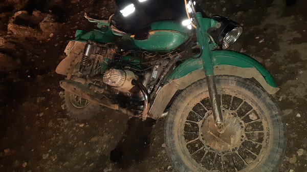 авария с мотоциклом