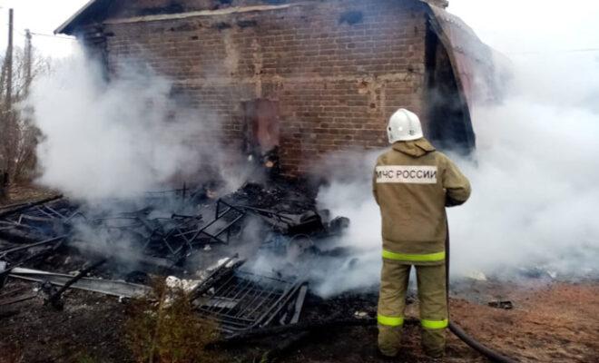 пожар Дзержинский район