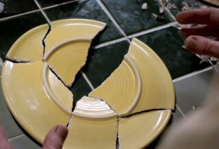 Посуда разбитая