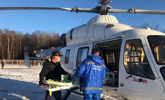вертолет обнинск