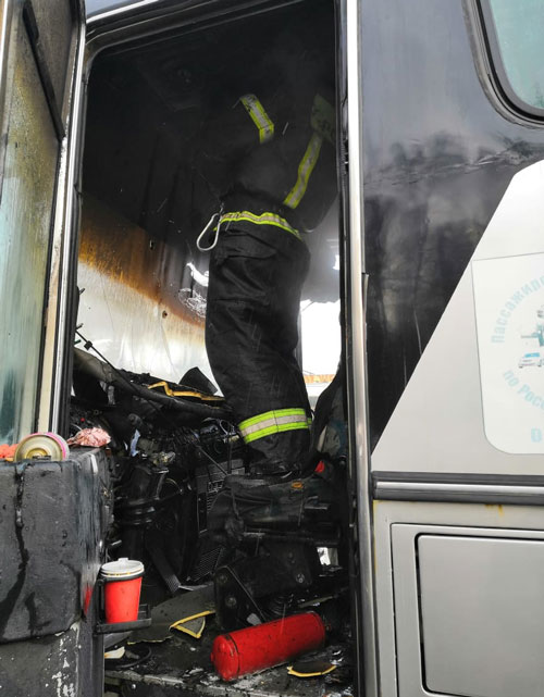 пожар Обнинск2