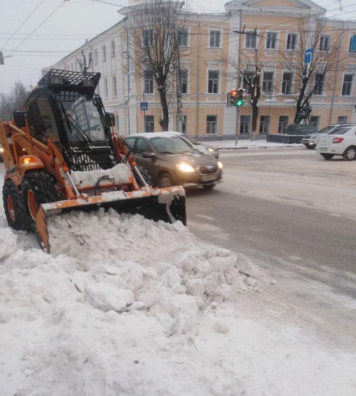 уборка снега2