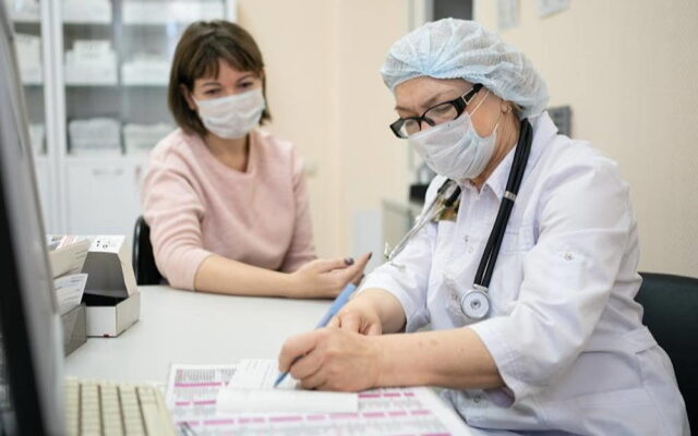 Прием пациента по полису ОМС