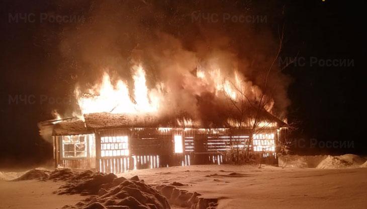 пожар СпасДеменский
