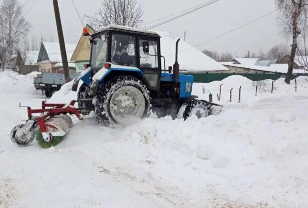 снег 27 февраля
