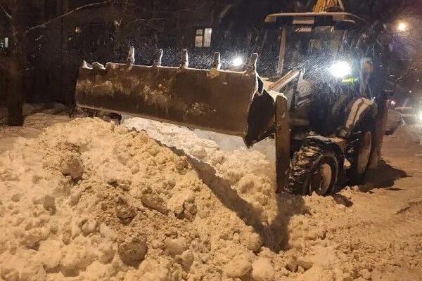 Уборка снега