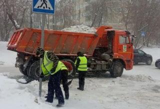 уборка снега Калуга