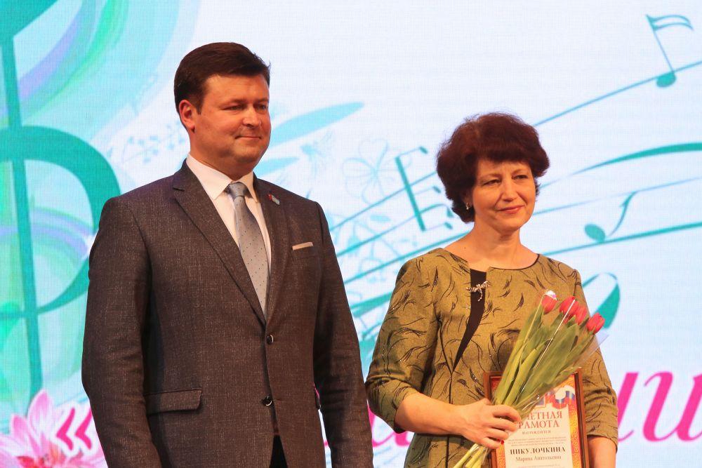 24 марта в Калуге работников культуры поздравляли с профессиональным праздником