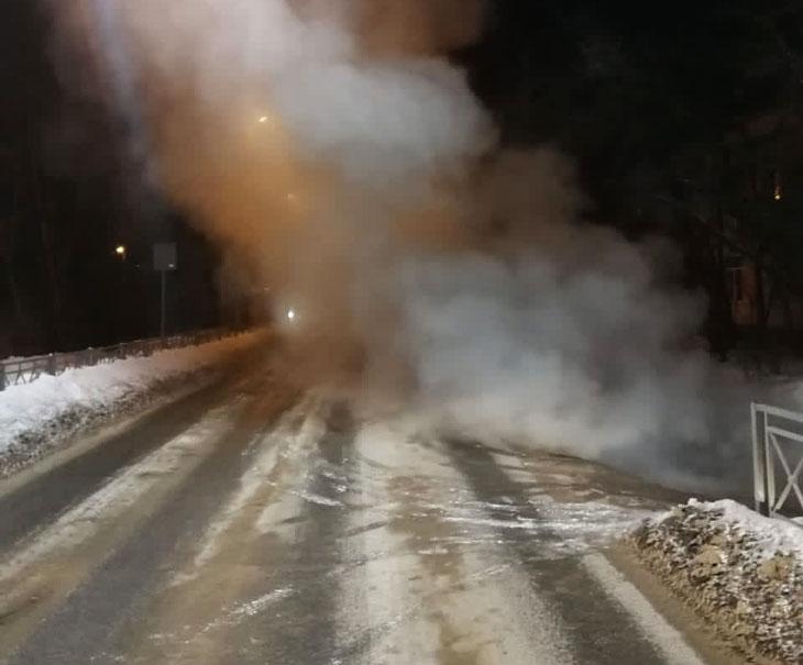 Обнинск авария теплосети 2