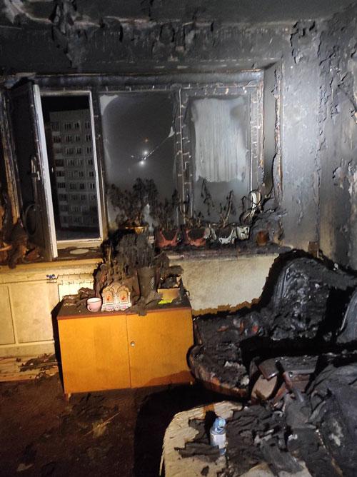 пожар Обнинск3