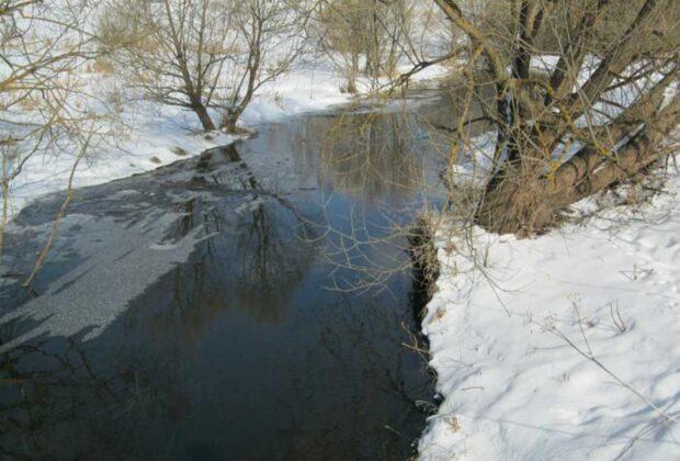 тело в реке