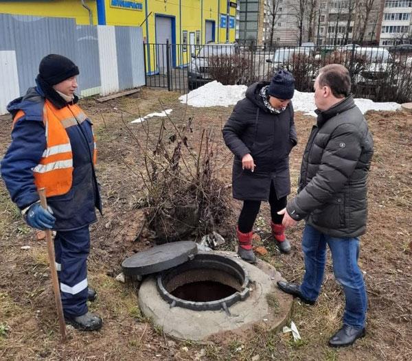 авария канализация Калуга2