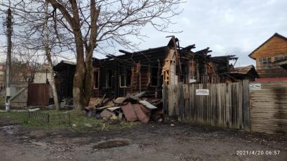 В Тарусе 86-летняя женщина погибла при пожаре в доме